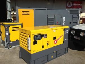 Atlas Copco Diesel Generators and Lighting Towers