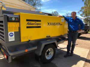 XAHS 375 Mobile Air Compressors