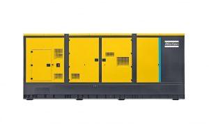 QES 1250kVa Mobile diesel generators