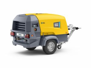 E-Air H450 VSD electric mobile compressor